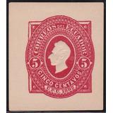 Ecuador Postal Stationery 1892 Sello Sobre Postal 5 Cent.