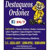 Destaqueo Tuberías Sondeo Tanques Sépticos 83858996