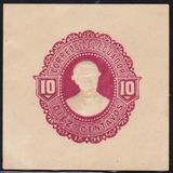 Ecuador Postal Stationery 1894 Sello Sobre Postal 10 Cent.