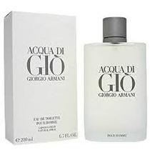 Perfume Aqua Di Gio Caballero 200 Ml 100% Original