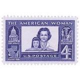 Us Sc #1152 - 1960 4c American Woman Con Matasello.