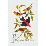 Us Sc #3650 - 2002 37c John James Audubon, S/ Con Matasello.