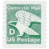 Us Sc #2112 - 1985 22c D-rate Eagle, Perf. 10 Con Matasello.