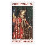 Us Sc #1363 - 1968 6c Christmas Angel Gabriel Con Matasello.