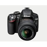 Cámara 24.1 Mp Nikon D3200 Zoom 55-200 Ó 18-55