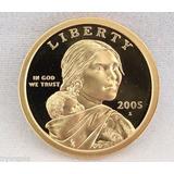 2005-s. $1 Dolar Sacagawea Condicion Sin Circular.