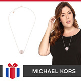 Michael Kors Pendiente Modelo Semi Precious Quartz Mkj54
