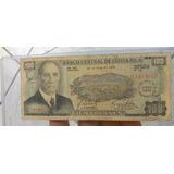 Billete 100d  1971, Conmemorativo Costa  Rica Buen Estado.