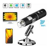 Ec Microscopio Digital Wifi Usb Hd 1000x 8 Leds P/cel Y Comp