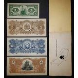 Billetes Banco Anglo 1 5 10 20 Colones