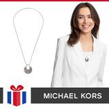 Michael Kors Pendiente Silver-tone Gray Mkj5777