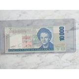 Billete 10 Mil Enma Gamboa C.r Año 2005, Muy Buen Estado.