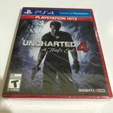 Uncharted 4 A Thiefs End Ps4 Nuevo Sellado Fisico