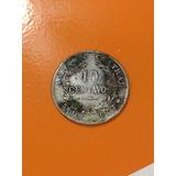 Moneda De Costa Rica Antigua De Plata 10 Centavos 1917 Jmg