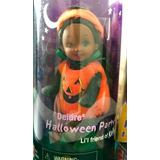 Kelly (barbie) Halloween Disfrazada De Calabaza