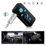 Adaptador Receptor De Audio Música Bluetooth Aux 3.5mm