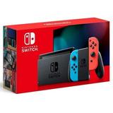 Nintendo Switch Neon New Version Ha Skadaa Usz