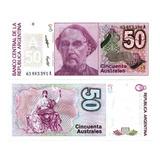 Billete De Argentina 50 Pesos Numismatic Collection