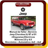 Jeep Cherokee Xj 97-2001 Manual Servicio Reparacion Diagrama