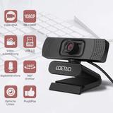 Cámara Web Loetad 2mp 1080p Full Hd Usb 2.0 Micrófono