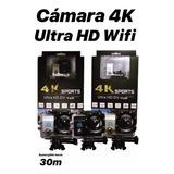 Cámara Estilo Go Pro 4k Ultra Hd