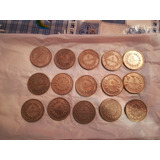 Monedas De 2colones Costa Rica 1962al 1978 ¢1500 Cada Una