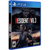 Ps4 - - Resident Evil 3 Remake -- Sellado