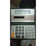 Calculadora Antigua Casio Electronic Sl-100w De 8 Dígitos