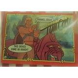 He-man Tarjeta Colecionable Autografo Tom Cook