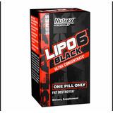 Lipo 6 Black Ultra Concentrado Quemador Grasa Unique 506!