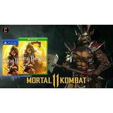 Juego Ps4 Mortal Kombat 11  En Fisico Nuevos