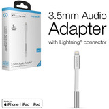 Adaptador iPhone Lightning A 3.5mm  / Cert Mfi