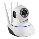 Camara Seguridad  Wifi Ip Robotica Giratoria 3 Antenas 1080p