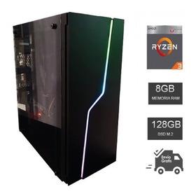 Computadora Gamer Ryzen 3 3200g, Ram 8gb Ddr4, Hyperx