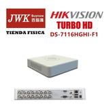 Grabador Hikvision 16 Canales Turbo Hd Dvr Jwk Vision