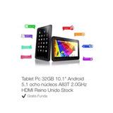 Tablet  Pc 32gb 10.1  Android 5.1  Ocho Núcleos