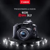 Canon Rebel Eos Sl3 Dslr + 18-55mm Cuotas - Inteldeals