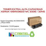 Toner Xerox Wc 3345 3335 / Phaser 3300 Alto Rendimiento