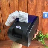 Impresora Usb 58mm Térmica Bn Servicios Y Tiempos Mocell