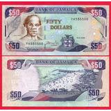 Billete De Jamaica 50 Dollars 2008 P-83c   Unc , Mlc