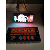 Reloj Led De Pac Man Decorativo