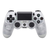 Sony - Dualshock 4 Mando Inalámbrico, Color Crystal (ps4)