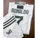 Uniforme Niño Juventus & Ronaldo