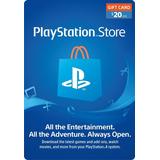20 Usd Psn Gift Card Playstation Network Ps3 Ps4 Ps Vita