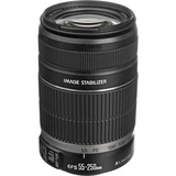 Lente Zoom Canon 55-250 F4-5.6 Stm Stab.