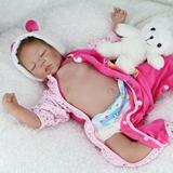 22 '' Artesanía Lindo Realista Reborn Newborn Baby Happy Boy