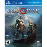 God Of War Playstation 4 Caja De Carton Usado