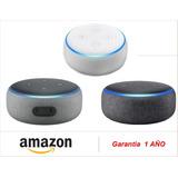 Parlante Amazon Echo Dot Inteligente Alexa 3rd (sumcomcr)