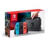 Nintendo Switch Neon 32 Gb Original Nuevo Sellado