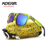 Kdeam Kd901p-c8 Polarized Sunglasses Men Women Uv400 Square